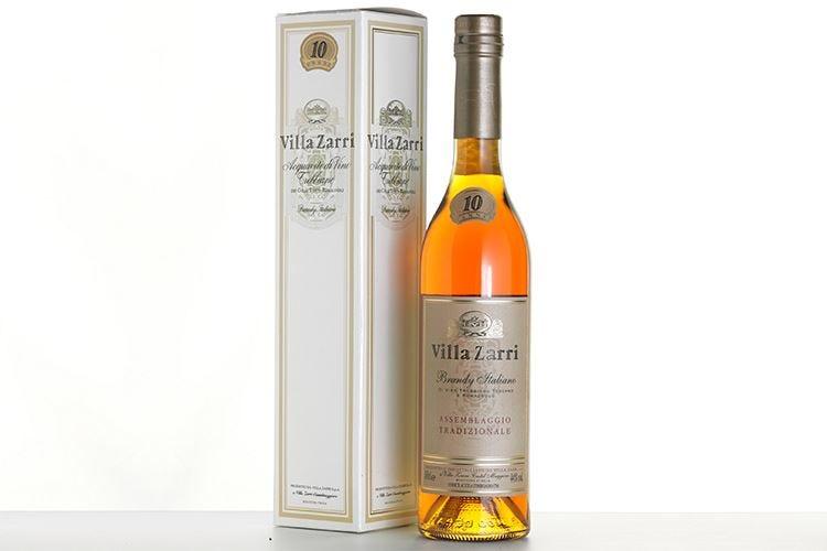 Villa Zarri, il brandy per i momenti speciali