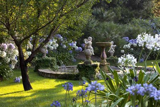 Giardini incantevoli e cucina tipica ligure al relais for Giardini villa della pergola