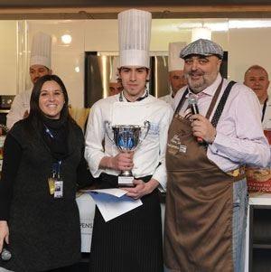 Davide Posillipo trionfa al concorsoCucina italiana con gusto mediterraneo