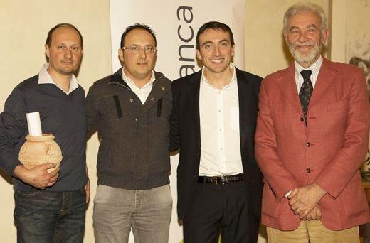 Fonte di Foiano vincitore assolutodel primo Premio Il Magnifico