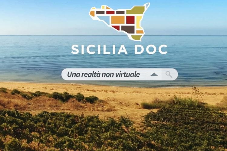 Vini Doc Sicilia, uno spot in tv