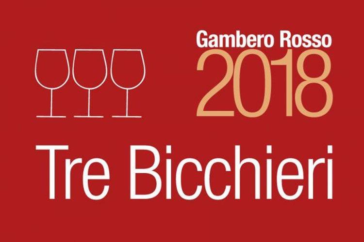 Vini d'Italia 2018 del Gambero Rosso 436 Tre Bicchieri, Piemonte in testa