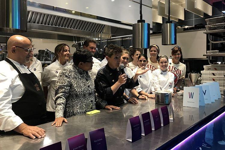Progetto Viva, calendario fitto In cucina con cuochi internazionali