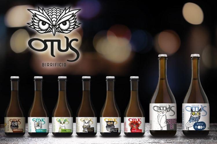 Vola alto il Birrificio Otus Restyling di logo ed etichette
