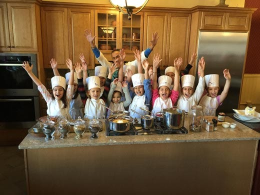 La cucina italiana conquista gli usa walter potenza for Corsi di cucina per bambini