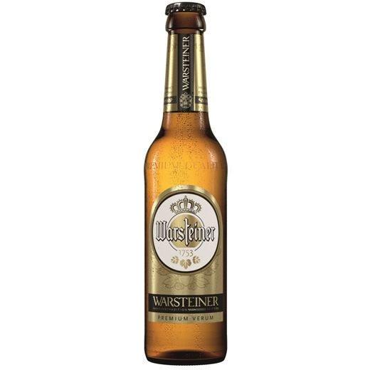 La birra Warsteiner rinnova il look Un restyling nel segno della continuità
