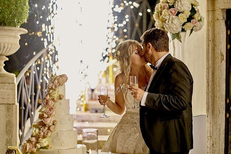 Wedding day a Casina Valadier Sfilate e showcooking prima del