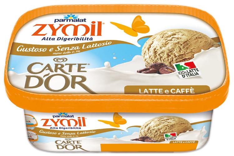 Il latte Zymil e l'esperienza di Carte d'Or Nasce il gelato senza lattosio