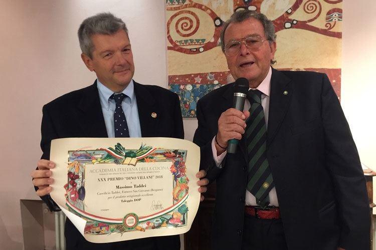 A Massimo Taddei il Premio Dino Villani Poi festa al ristorante Della Torre
