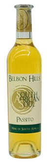 Passito South African Soul,Belbon Hills distribuito da Afriwines