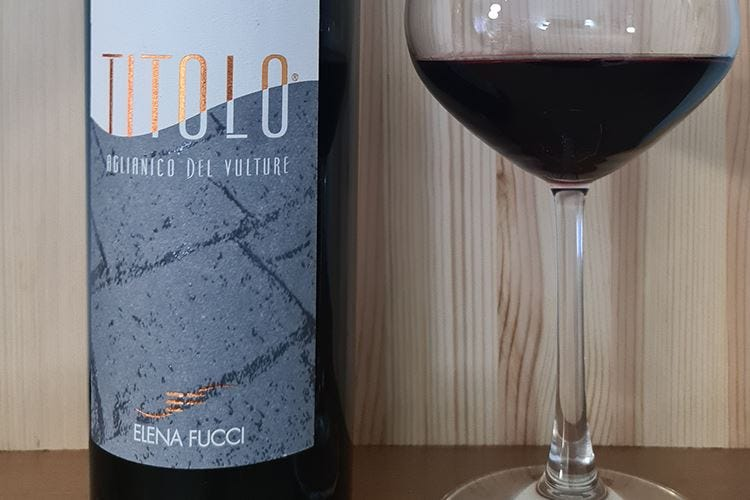 """£$Ripartiamo dal vino:$£ Aglianico del Vulture Doc """"Titolo"""" 2018 di Elena Fucci"""