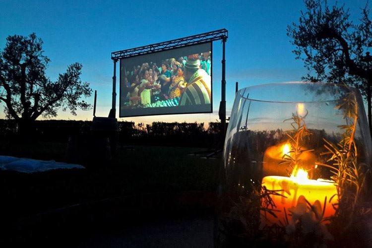 """""""Al Cinema con gusto"""" Cibo e film tra i vigneti"""