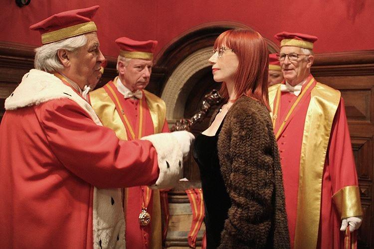 Alessandra Piubello nominata cavaliere dalla Confrérie des Chevaliers du Tastevin