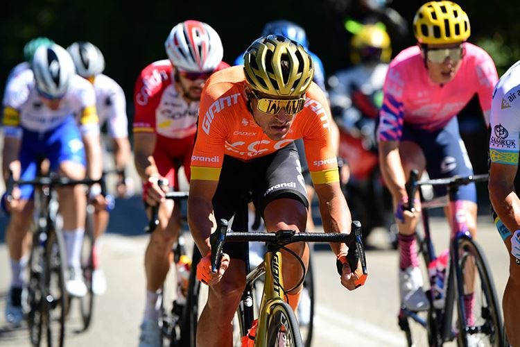 Alimentarsi al Tour de France Con il covid, nel menu c'è la zucca