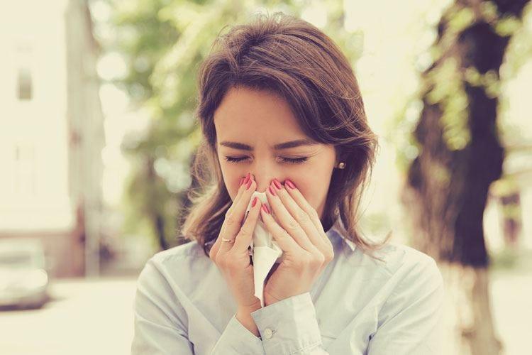 Allergie d'autunno Spauracchio polvere e muffe