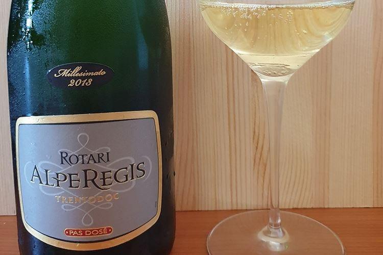 £$Ripartiamo dal vino$£ AlpeRegis Pas Dosé 2013 Rotari