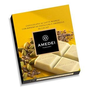 L'autunno goloso del cioccolato con granella e tavolette Amedei for you