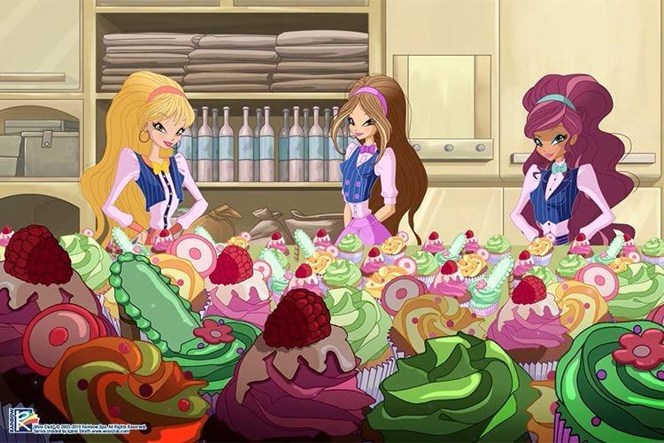 Winx Birthday CakeUn contest per la ricetta d'auguri