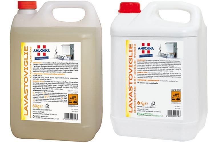 Amuchina Professional Igiene assicurata in lavastoviglie