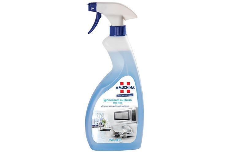 Amuchina Professional, igiene e forza sgrassante efficace e delicata