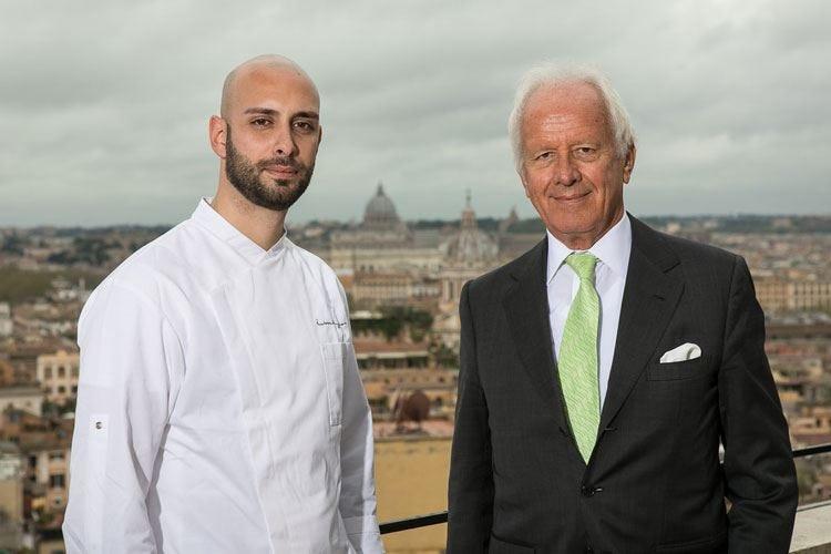 Antonini è il nuovo chef di Imàgo Venerdì sera il suo debutto in cucina