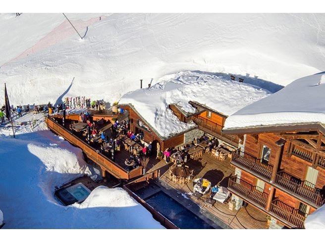 Après ski direttamente sulle piste al Principe delle Nevi di Cervinia