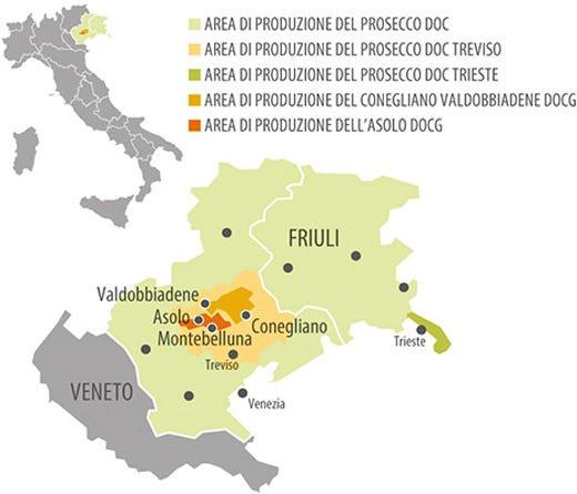 Il prosecco cresce nell export icona di stile italiano nel for Produzione mobilifici treviso