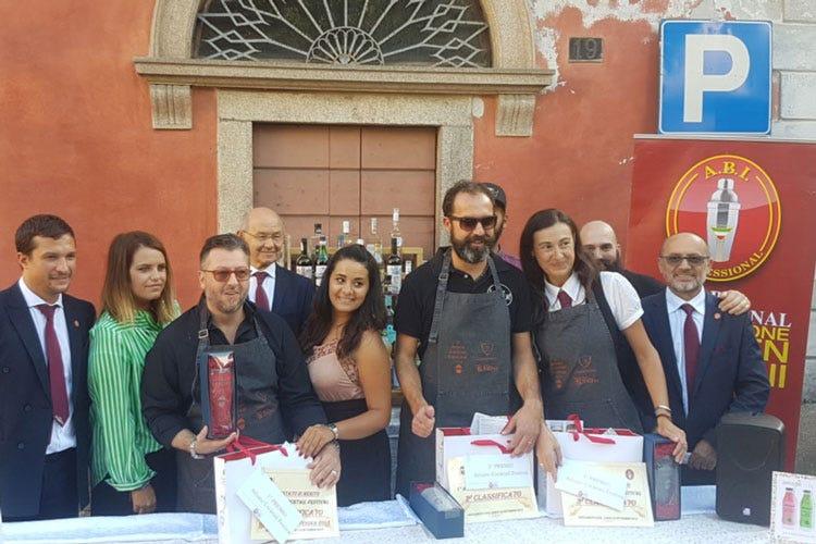 Gabriele Olindo, Daniele Porta, Laura Dalcaldo (Arluno Cocktail Fest Gabriele Olino vince la 1ª edizione)