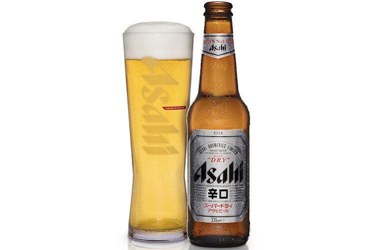 Asahi Super Dry Birra giapponese da cucine top