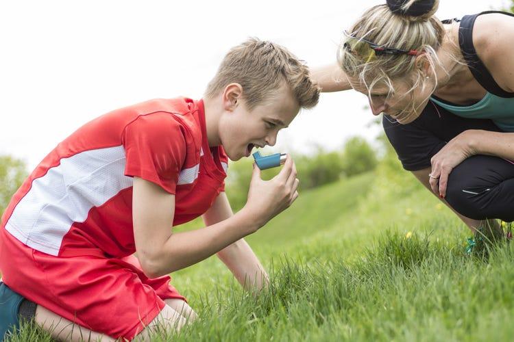 Asma da sforzo Si può curare con lo sport