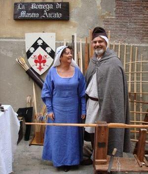 Assedio alla Villa, festa rinascimentale Vino dalla fontana a Poggio a Caiano