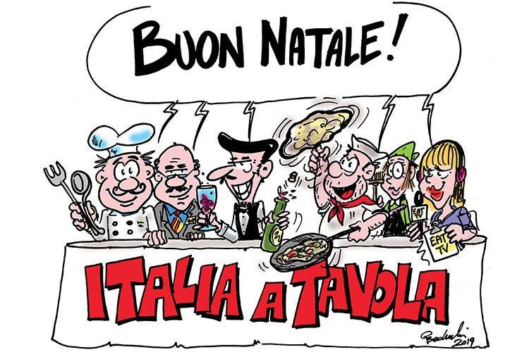 Buon Natale Italia.Auguri Di Buon Natale Da Tutti Noi Italia A Tavola