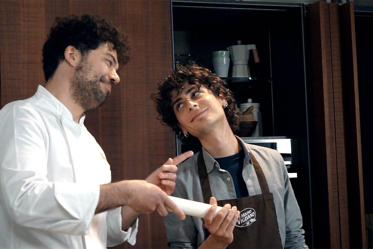 Alessio Vitale e Riccardo Betteghella Tendenze, Pizza fatta in casa Molino Vigevano ci crede