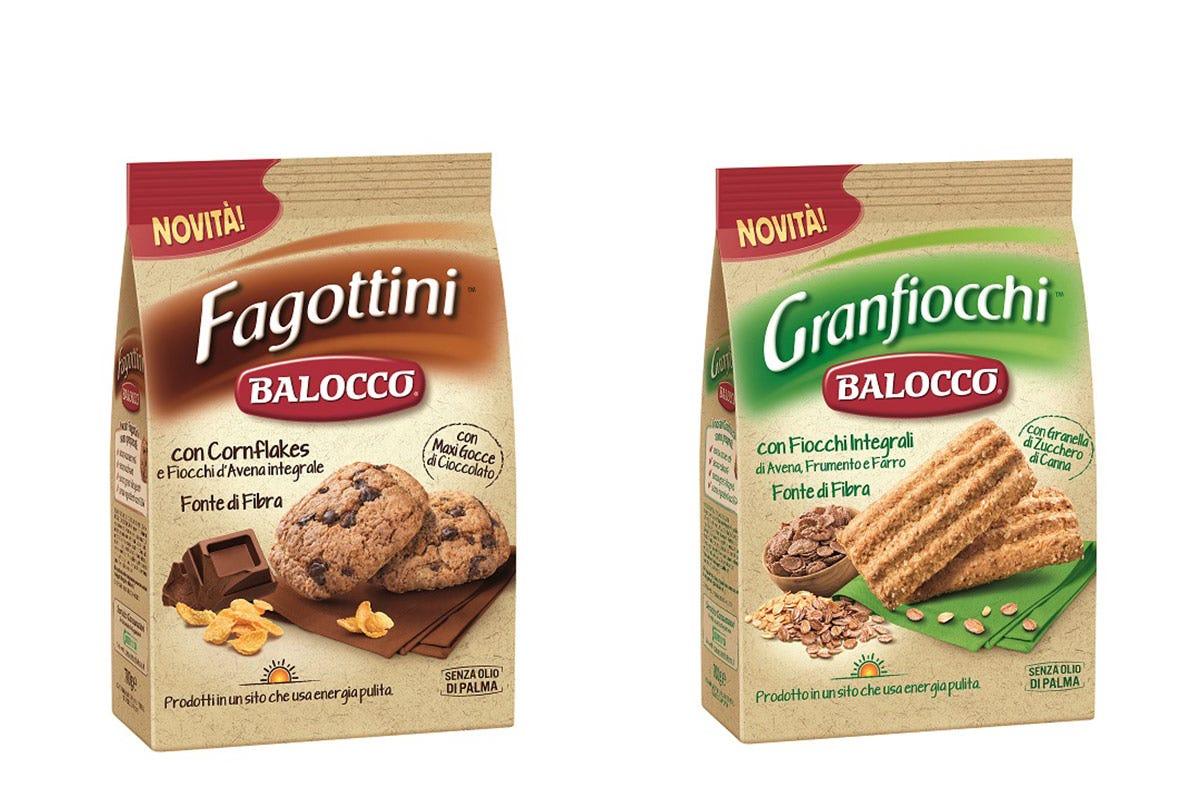 Fagottini e Granfiocchi, frollini integrali Balocco Iniziare la giornata con gusto Le novità di Bauli e Balocco