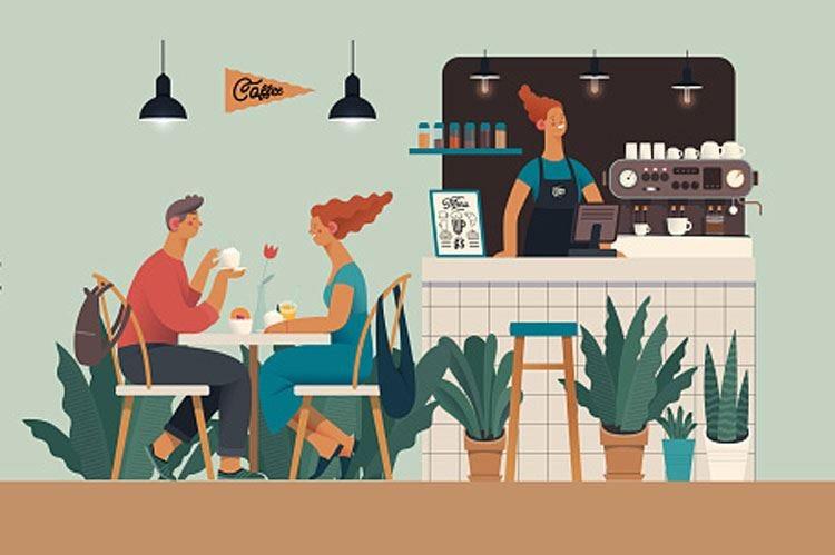 Caffè, aperitivi o pranzi di lavoro?  I bar trovino una nuova identità
