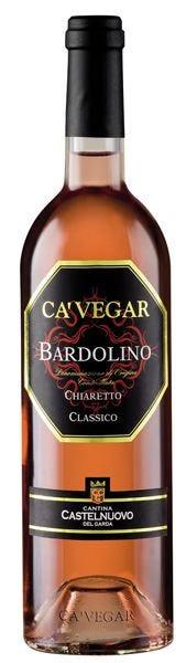 Ca' Vegar Bardolino Doc Chiaretto Classico di Cantina di Castelnuovo  del Garda