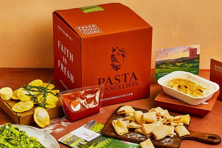 La delivery box di Pasta Evangelists - Barilla si mangia Pasta Evangelists Rafforzata la proposta eCommerce