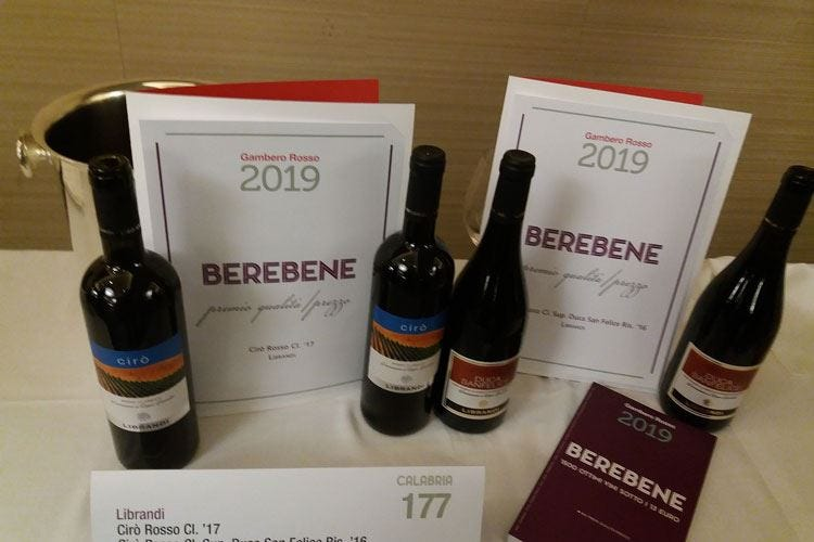 """""""Berebene"""", la qualità al miglior prezzo Il Gambero Rosso sceglie 895 etichette"""