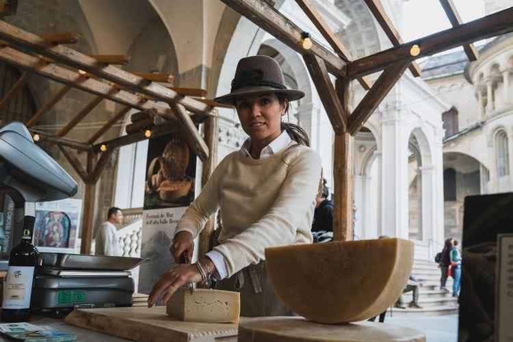 Bergamo è Città Creativa Unesco Formaggi simbolo della gastronomia