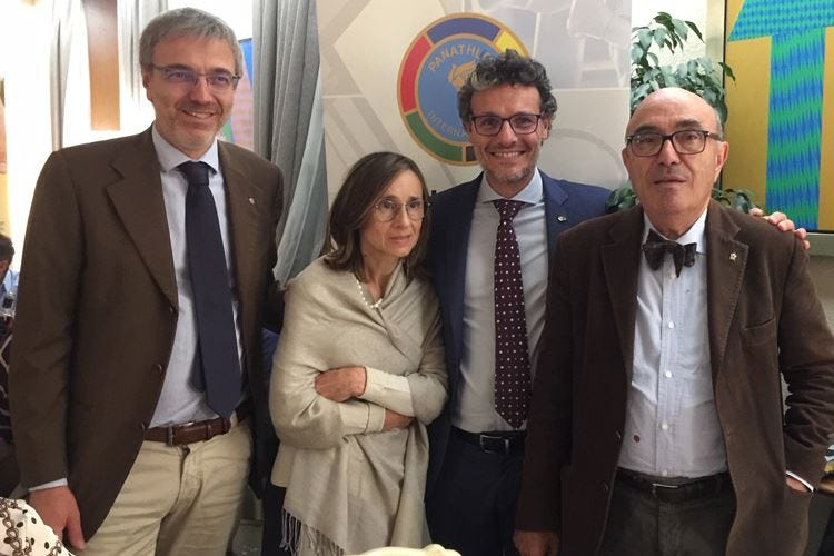Bergamo, Panathlon e Slow Food ricordano Mimmo Amaddeo