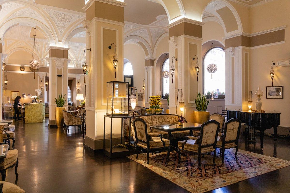 Un rinnovato Bernini Palace di Firenze riapre i battenti Riapre il Bernini Palace di Firenze con nuovo look e filosofia green