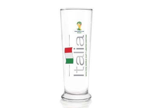 Un brindisi speciale ai Mondiali con i bicchieri £$limited edition$£ Beck's