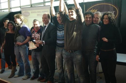 Il parmense Birrificio del Ducato è il migliore d'Italia del 2011