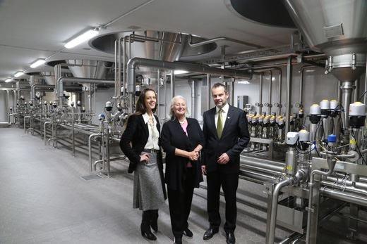 Birra Forst inaugura due nuove cantine per la fermentazione e la maturazione