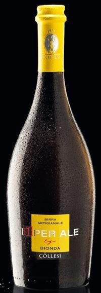 Materie prime di alta qualità e a km 0nella birra Imper Ale di Tenute Collesi