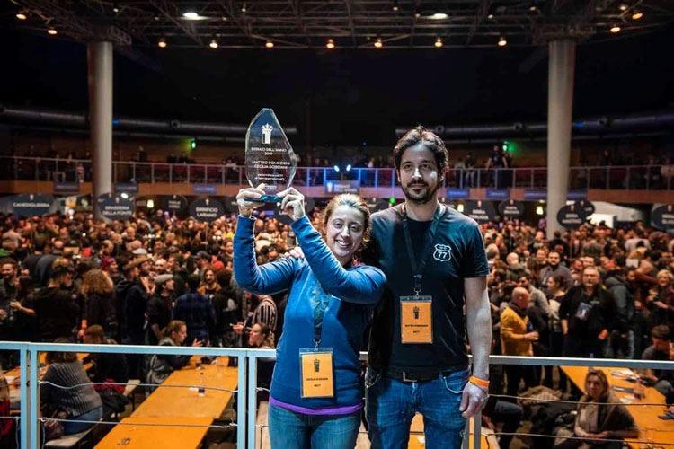 Premio Birraio dell'anno Vincono Pomposini e Scisciani