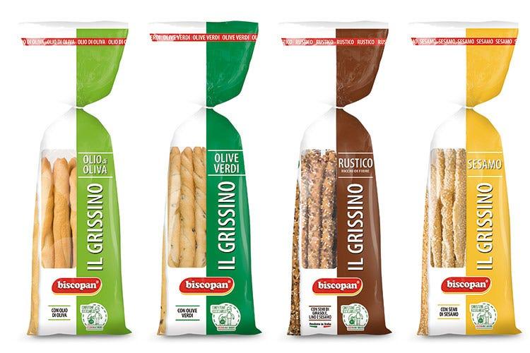 Nuovo pack per i grissini Biscopan  Fragranza in confezione riciclabile