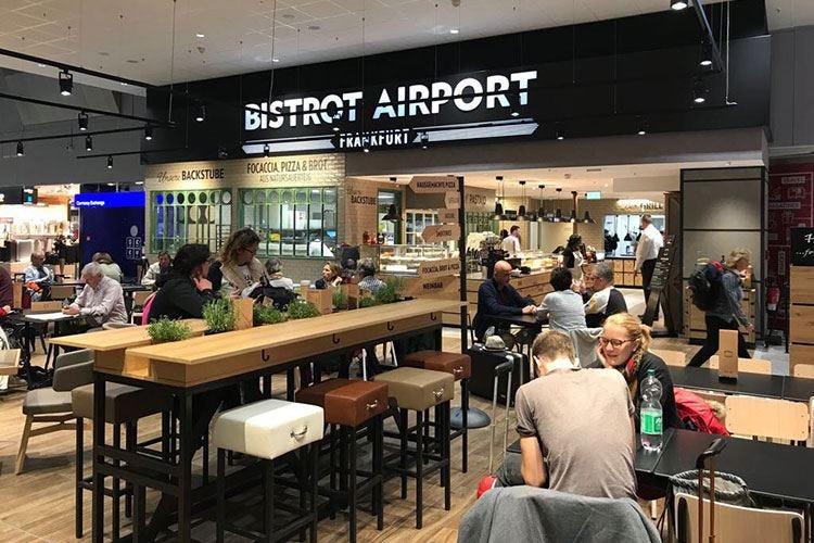 Bistrot, format di gastronomia moderna Con Autogrill all'aeroporto di Francoforte