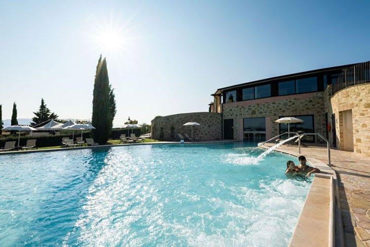 Al Borgobrufa Spa Resort debutta la sauna panoramica