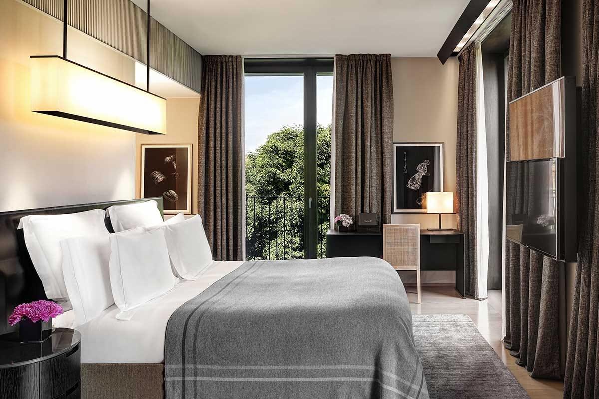 Una stanza del Bulgari Hotel Fashion Week a Milano, ecco dove dormire e mangiare per incontrare stilisti e vip